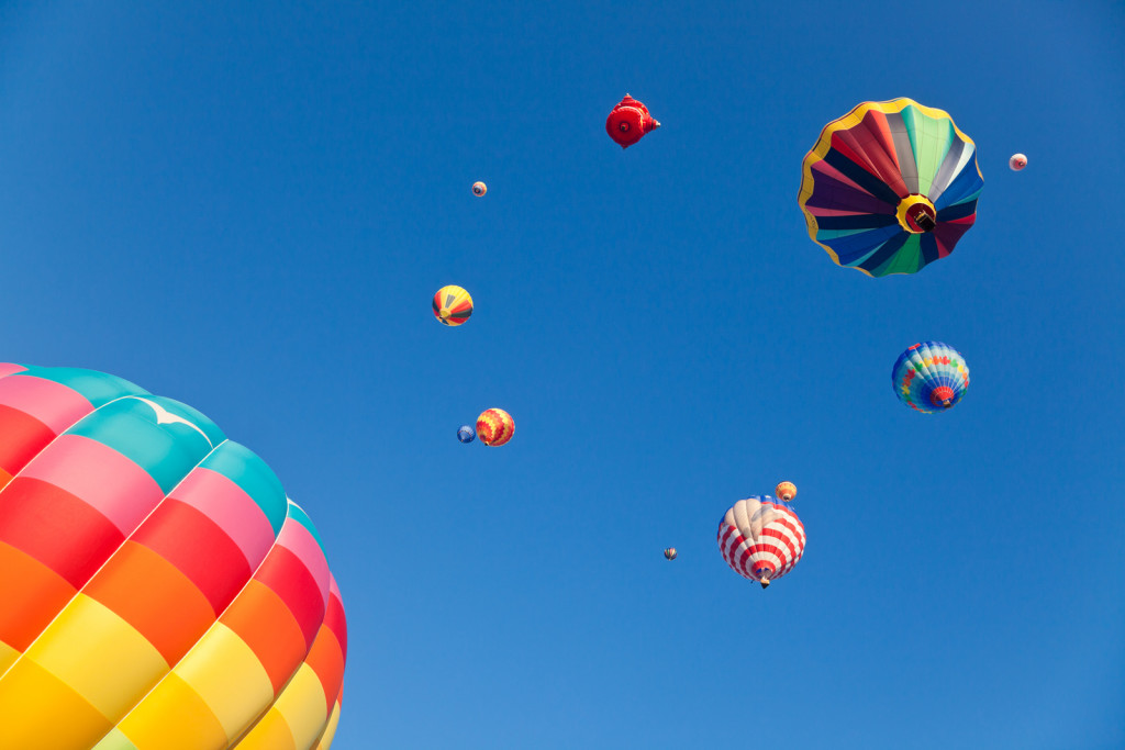 Hot Air Balloons - Achieve Your Goals in Life